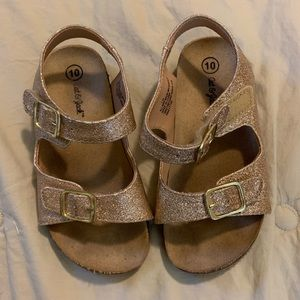Glitter Sandals sz 10